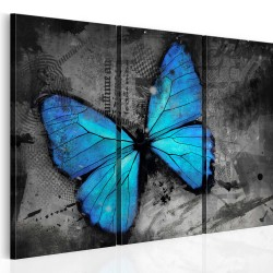 Kép  The study of butterfly  triptych