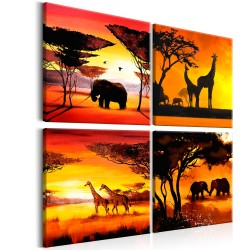 Kép  African Animals (4 Parts)